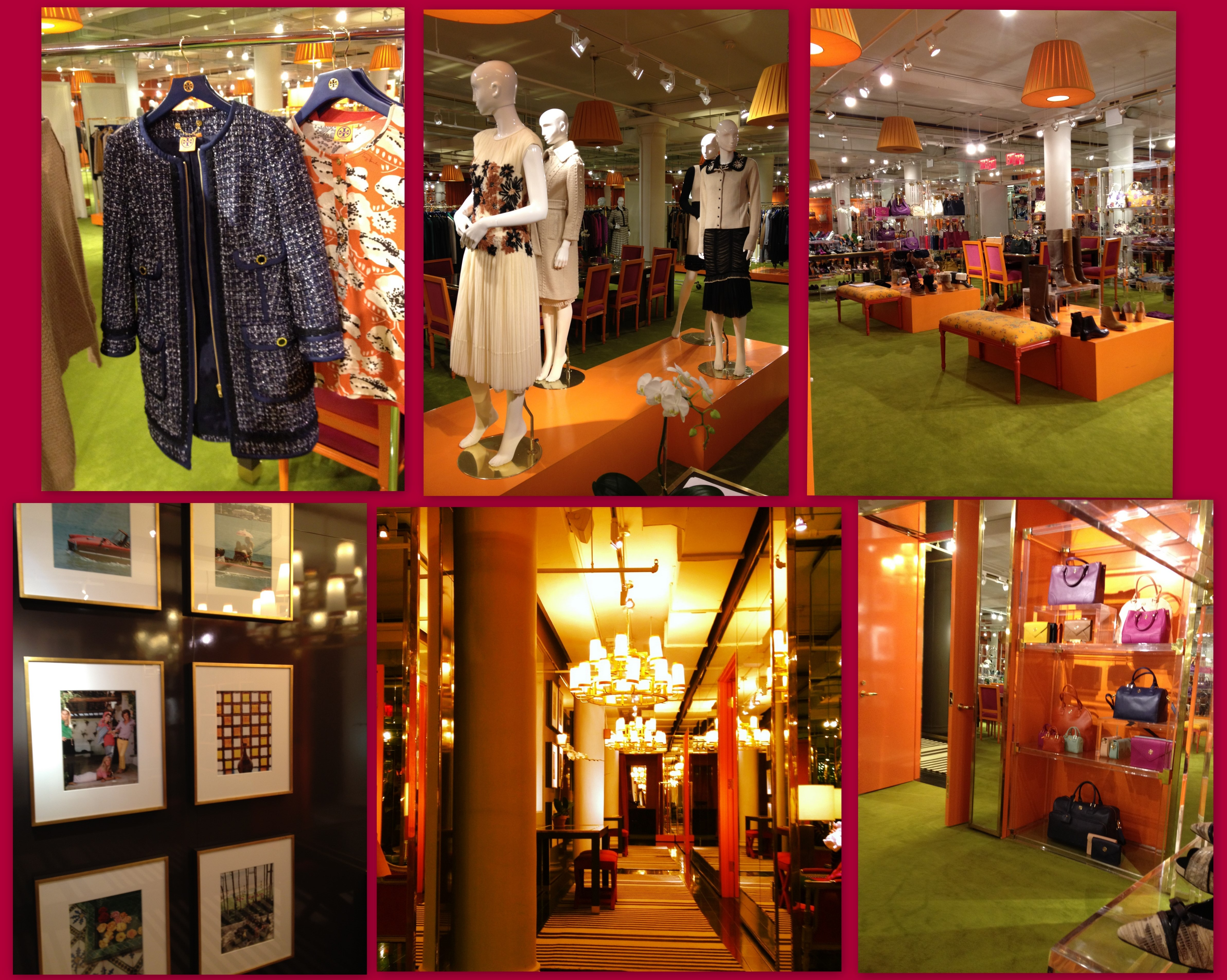 The always awe inspiring Tory Burch showroom... Tory Fall 2012 is AMAZING!!!