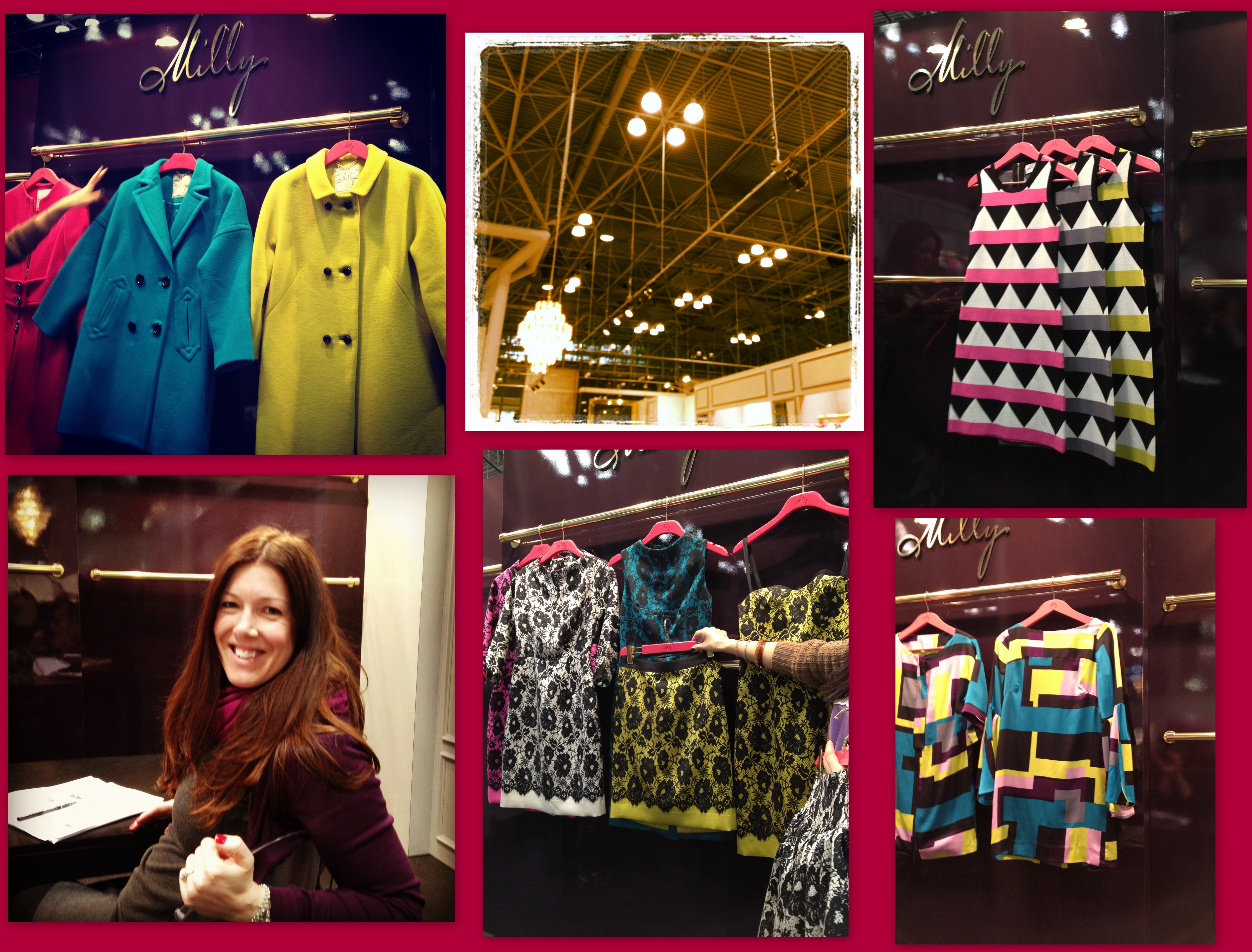 Amazing brights and patterns at Milly!